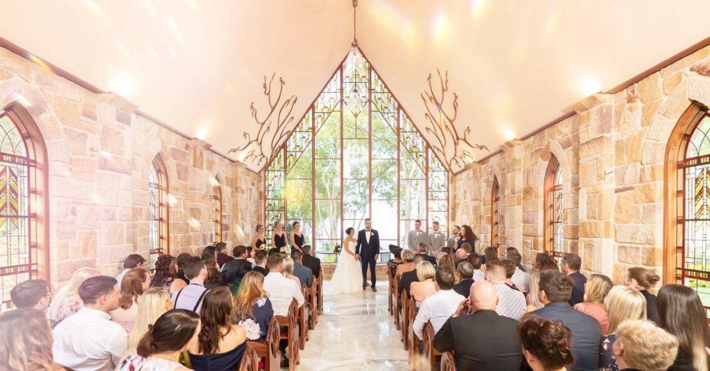 Montville Chapel Wedding